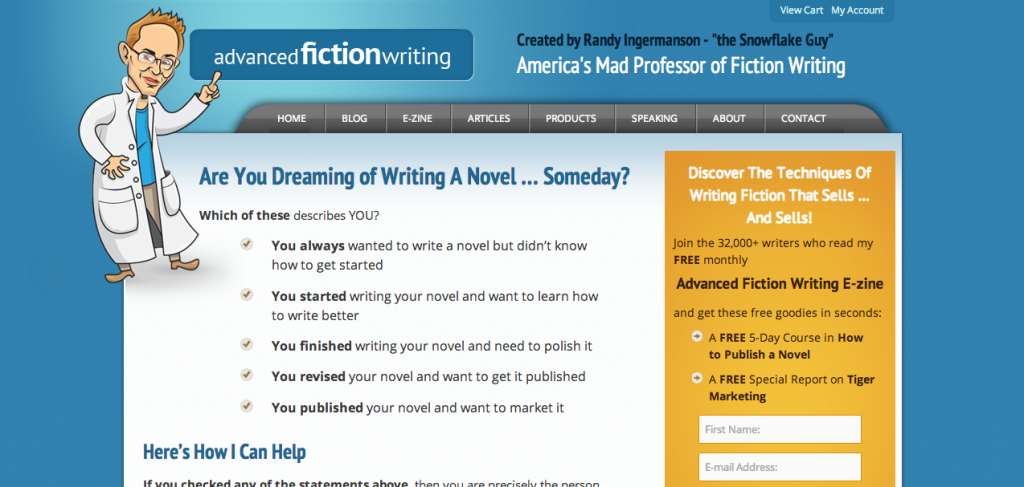 Advanced Fiction Writing